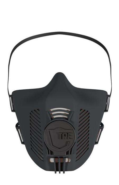 TPE Maske in Farbe all black