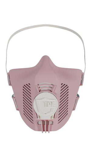 TPE Maske in Farbe rose white