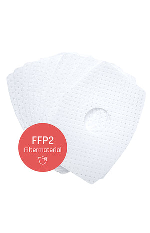 FFP2 filter pads - set of 10 replaceable filters for TPE masks