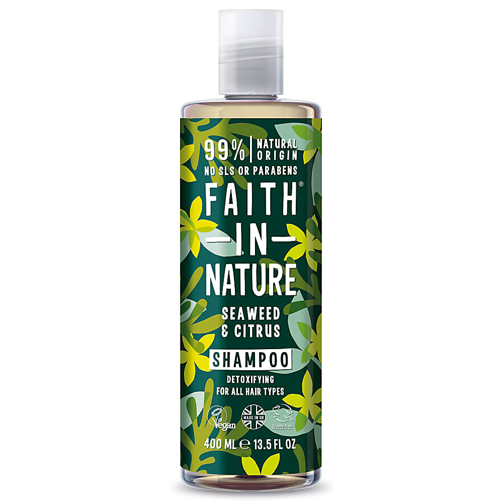 Champú Algas y Limón (Faith in Nature, 400ml)
