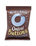 Botones de chocolate 'raw' (Ombar, 35gr)