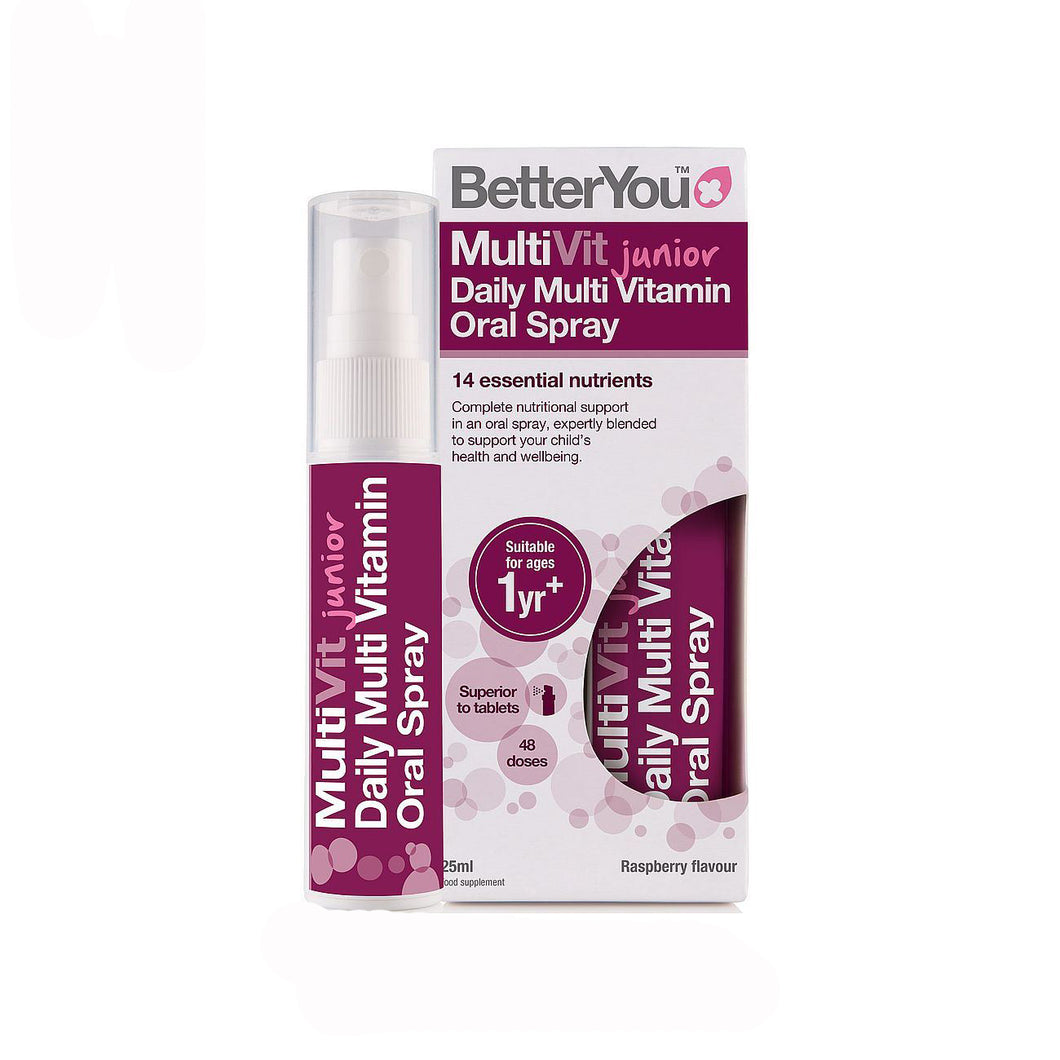 Multi Vit, spray bucal (BetterYou, 25ml)