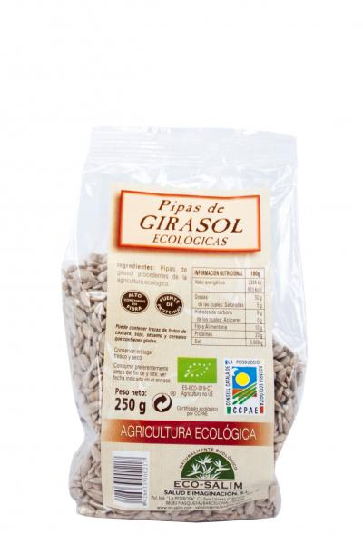 Sunflower seeds (Eco Salim, 250gr)