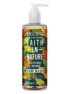 Jabón de manos Pomelo (Faith in Nature, 300ml)