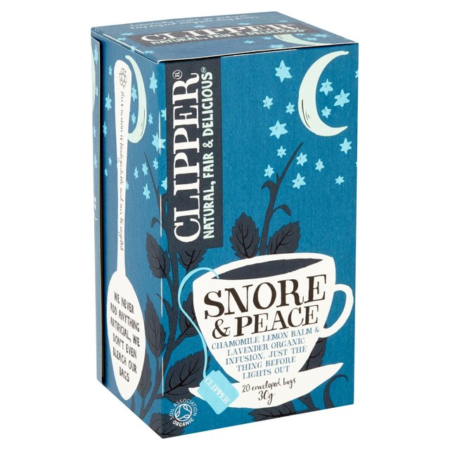 Snore & peace - sleeping blend (Clipper, 20 bags)