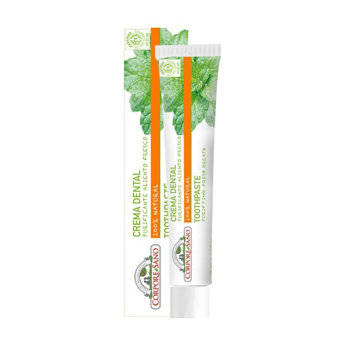 Crema dental purificante aliento fresco (Corpore Sano, 75ml)