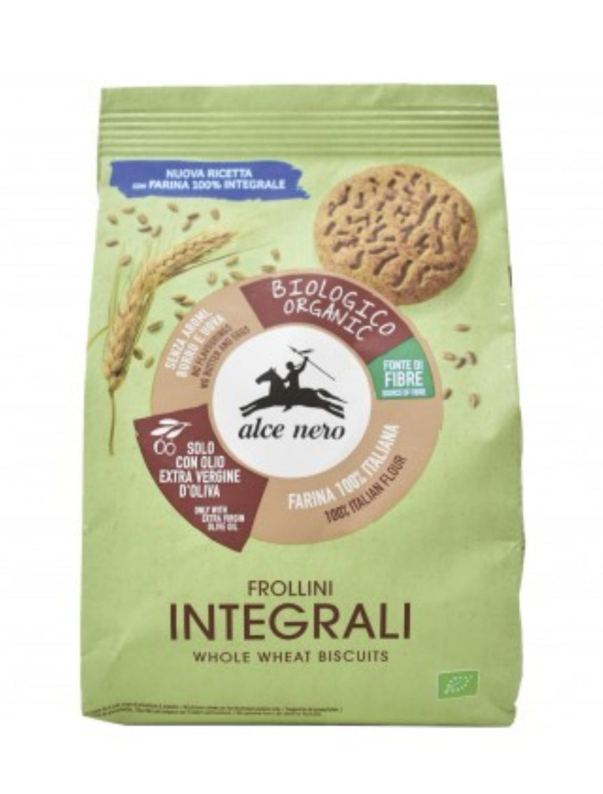 Galletas integrales (Alce Nero, 350gr)