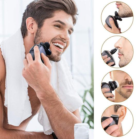 val. Wiktok® Men's 5-in-1 Electric Shaver & Grooming Kit