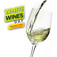 White Wines Day Promotion