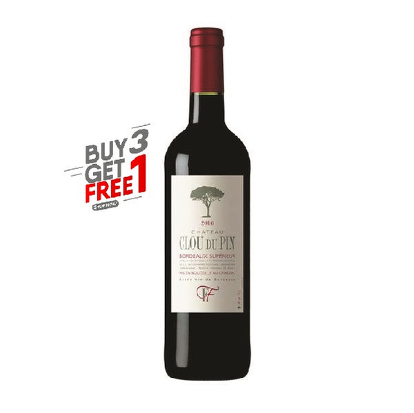 Chateau Clou Du Pin 2016, Bordeaux Superieur