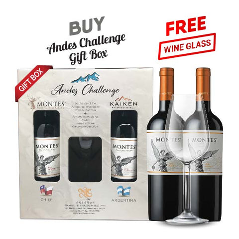 Andes Challenge Gift Pack Montes Classic Malbec Set