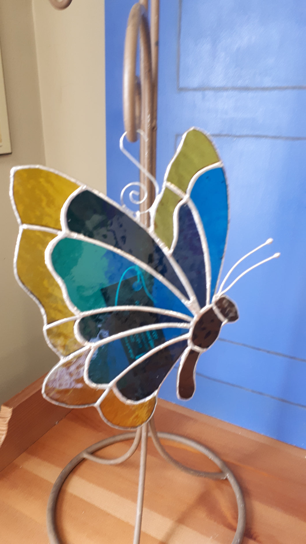 Stained Glass Butterfly (large)