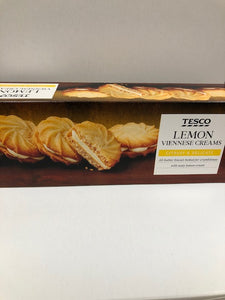 Tesco's Lemon Viennese Creams SOLD OUT
