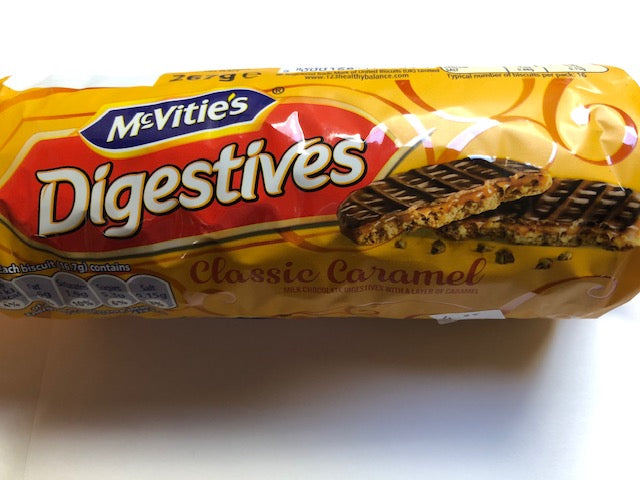 Mcvities Caramel Chocolate Digestive 300g