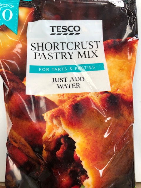 Tesco's Shortcrust Pastry Mix