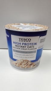 Tesco's Instant Oatmeal - Varous Flavours