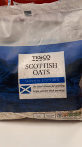 Tesco's Scottish Poridge Oats