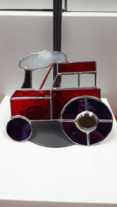 Stained Glass Tractor