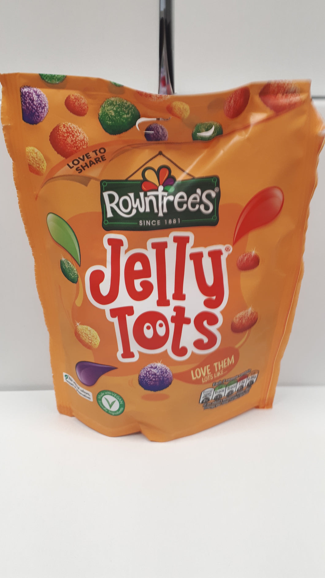 Rowntrees Jelly Tots 156g bags