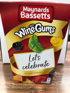 Maynards Bassetts Wine Gums 400g SOLD OUT