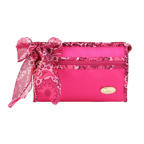 Jacki Design Summer Bliss Pink Cosmetic Bag