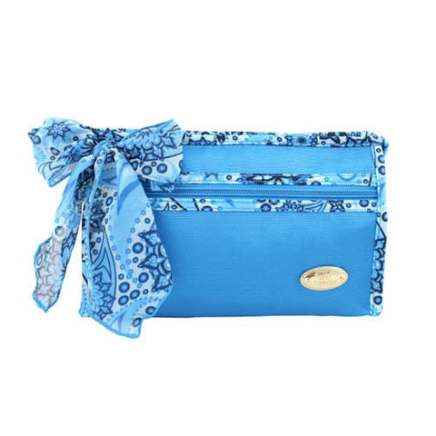 Jacki Design Summer Bliss Cosmetic Bag - Blue