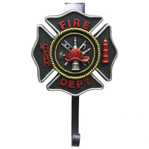 Firefighter / Maltese Cross Coat Wall Hook