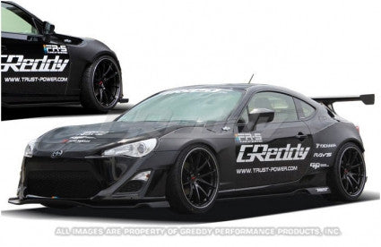 Greddy Rocket Bunny front fenders