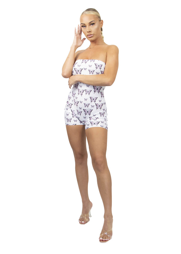 You Give Me Butterflies Romper