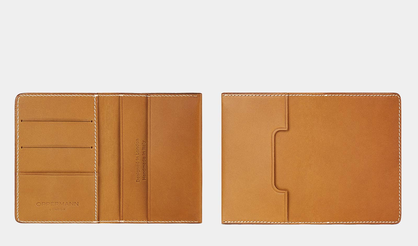 Oppermann Tan Wallet