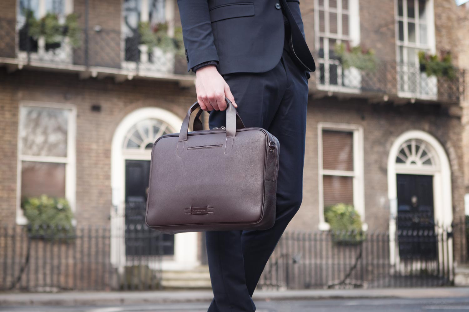 Leather Briefcase Bolton
