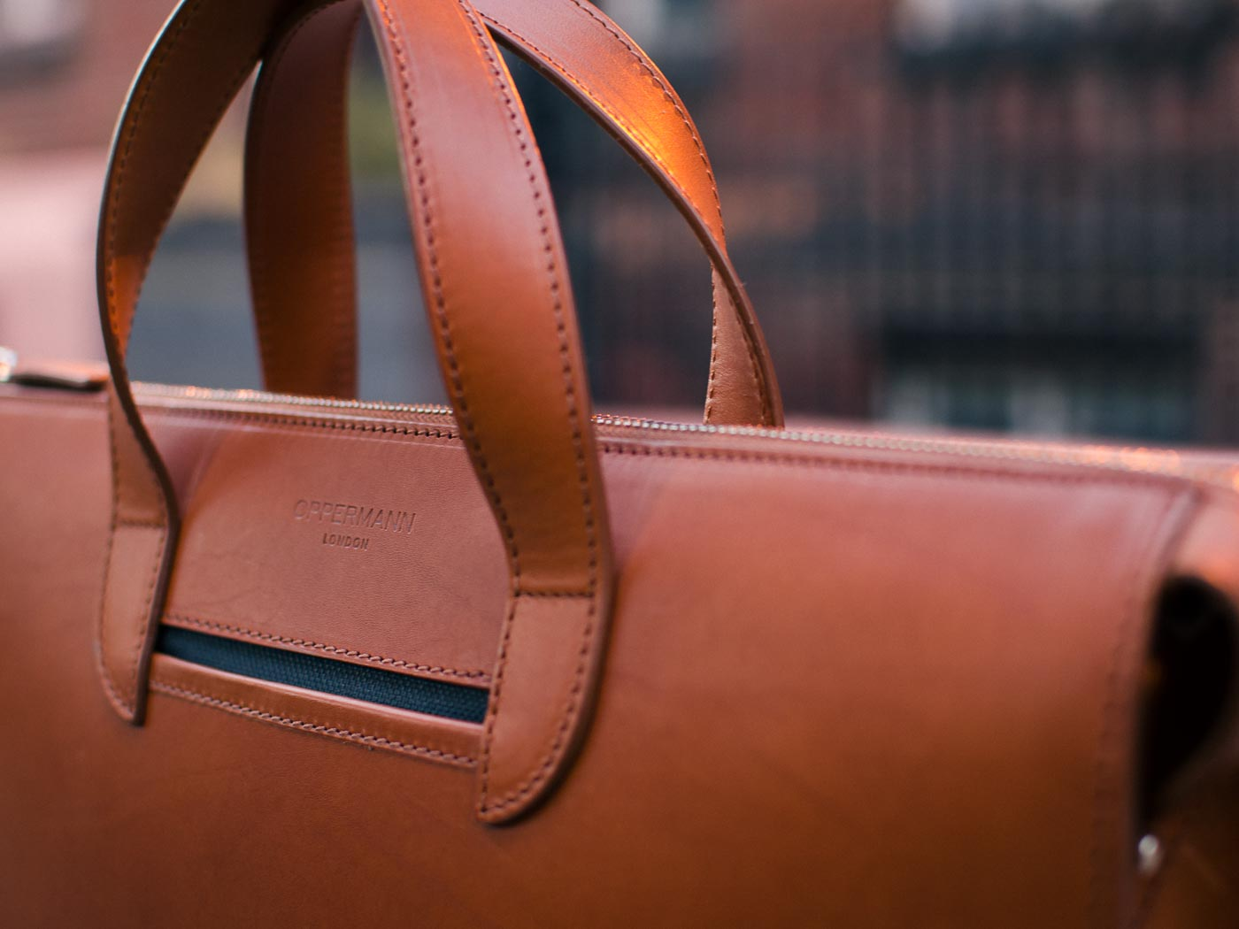 Leather Briefcase Vallance