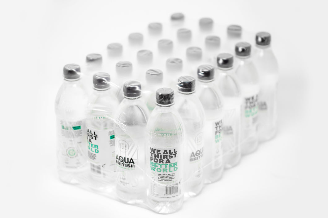 Aqua British 24x 500ml Spring Water Multipack. Delivery Included.