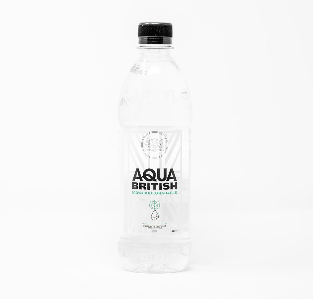 Aqua British 500ml Spring Water