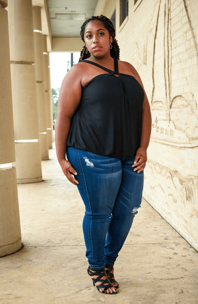 best jeans for petite plus size