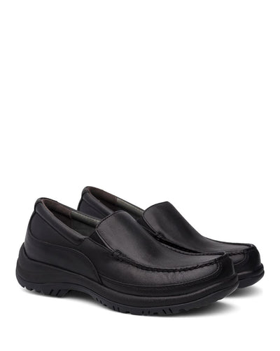 Dansko Wayne Black Leather Men's