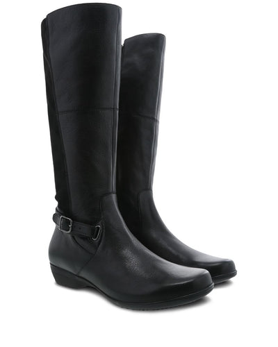 Dansko tall women's black boot