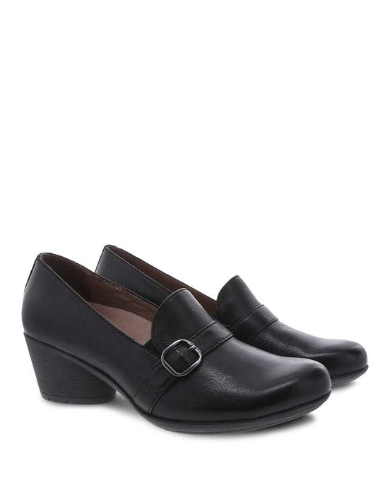 Dansko Rosalie Black Burnished Nubuck