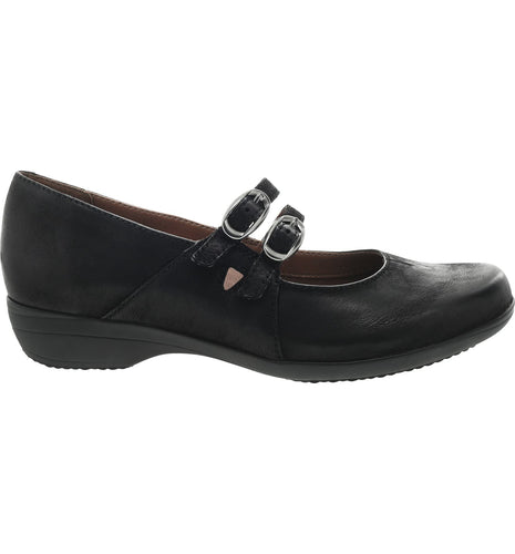Dansko Fynn Black Burnished Nubuck