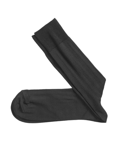 JOHNSTON&MURPHY Pima Cotton Ribbed Socks
