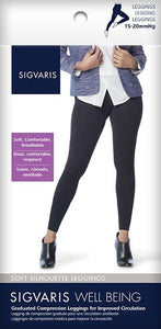 SIGVARIS Womens SOFT SILHOUETTE LEGGINGS 170