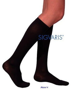 SIGVARIS Mens COTTON 230 Calf 30 40mmHg