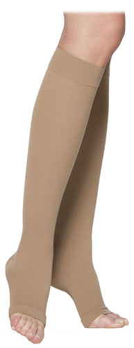 SIGVARIS COTTON 230 Open Toe Calf 20-30mmHg