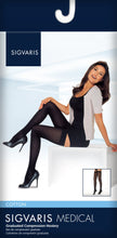 SIGVARIS Womens COTTON 230 Thigh High 30 40mmHg