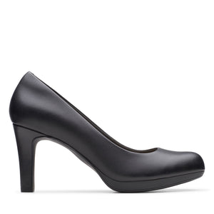 Clark's Adriel Viola Heels Black Leather
