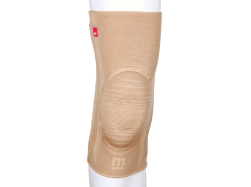 Genumedi Knee Support w/silicone insert and stays, Sand, Size VII
