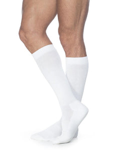 SIGVARIS Mens CUSHIONED COTTON 360 Calf 20 30mmHg