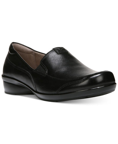 Naturalizer Channing Black Leather Loafer
