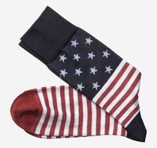 JOHNSTON&MURPHY Flag Socks