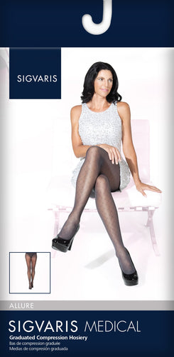 SIGVARIS Womens ALLURE 710 Pantyhose 20 30mmHg